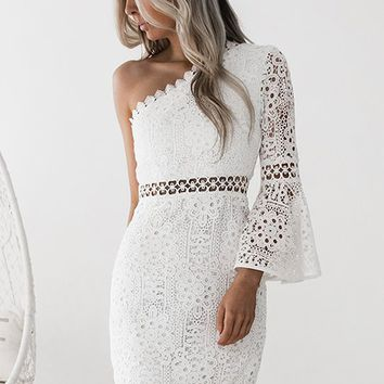 **Elysian Dress (White)