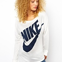 Nike Long Sleeved Top at asos.com