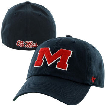 Ole Miss Rebels Franchise Fitted Hat – Blue