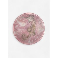 Seahorse on Pink
