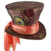 Alice in Wonderland Mad Hatter Hat, Disney(Large):Amazon:Clothing