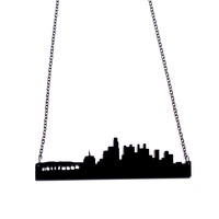 Los Angeles Skyline Necklace