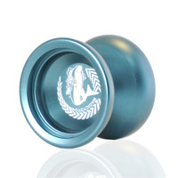 Yoyo Professional Classic Magic Toys Yoyo N12 SHARK HONOR String YOYOS Ball Deep Blue Aluminum yoyos MAGICYOYO Brand LB