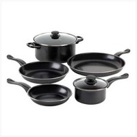 Graphite Nonstick Cookware Set