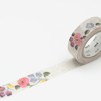 Masking Tape - mt ex, Lace・Kalocsa, 15mm x 10m
