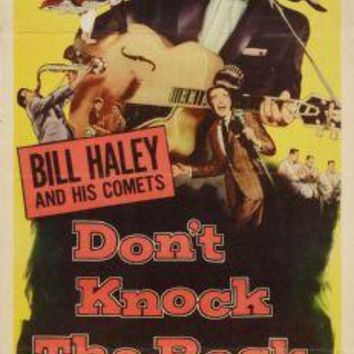 "Dont Knock The Rock Poster Movie Poster Insert 14""X36"""
