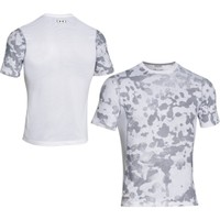 Under Armour Men's HeatGear Sonic Fitted Printed Short Sleeve Shirt - Dick's Sporting Goods