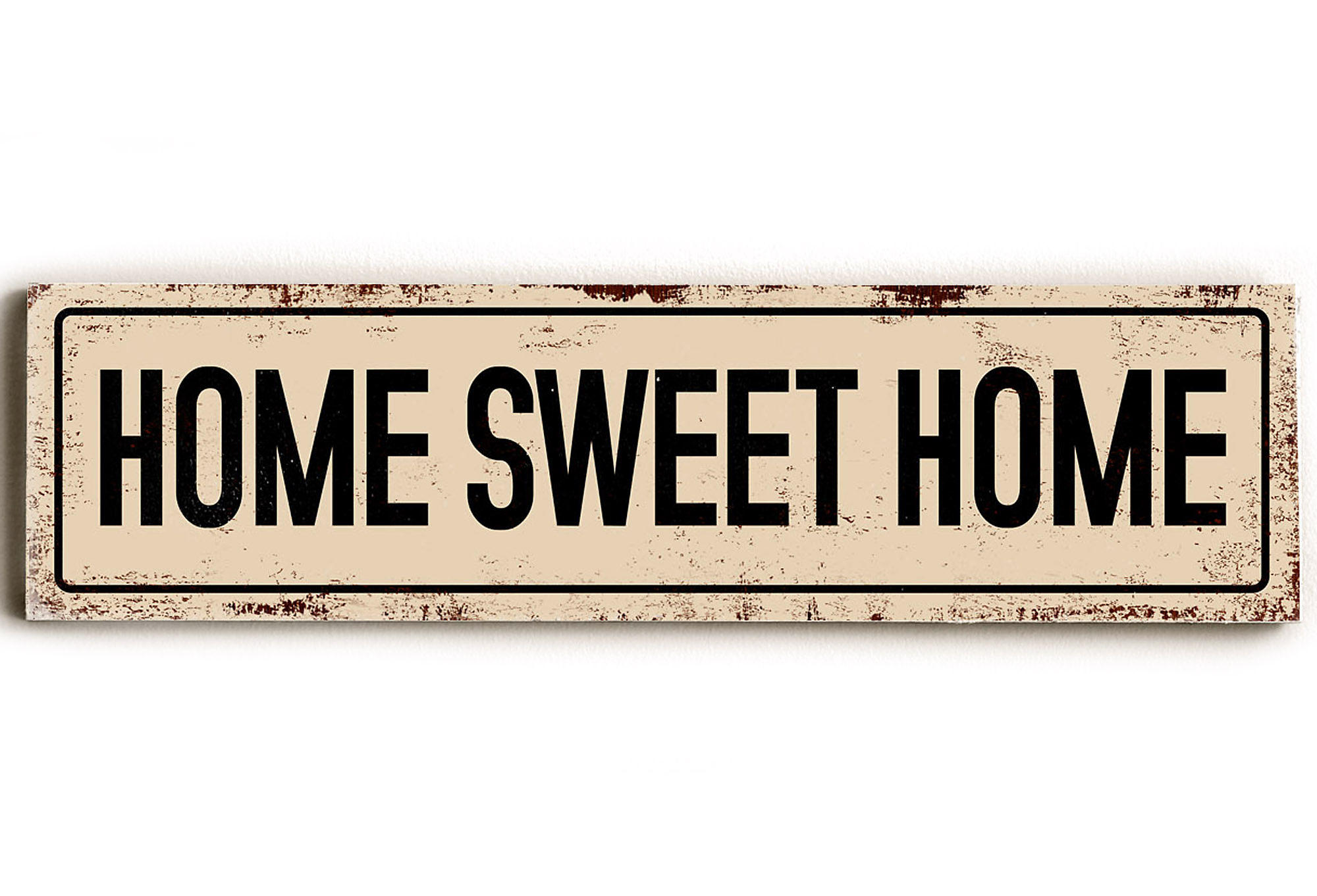 Home Sweet Home Wood Sign, Signs from One Kings Lane