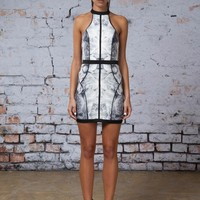 Finders Keepers WINTER BIRDS DRESS - Fashion Bunker