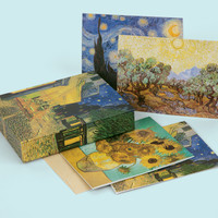 The World Of Van Gogh Keepsake Boxed Notecards