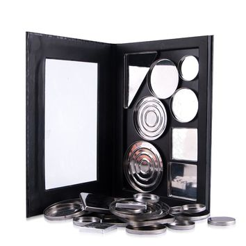 Empty Magnetic Palette Makeup Palette Pad Black Large Pattern DIY Palette New