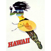 Personalized Hawaii Wood Sign