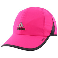 adidas Womens Adizero Ii Cap, Shock Pink/Deepest Space, One Size