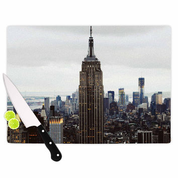 "Chelsea Victoria ""New York Stories"" Urban Travel Cutting Board"