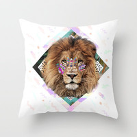 ISILWANE Throw Pillow by Kris Tate