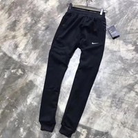 ONETOW NIKE Woman Men Fashion Velvet Pants Trousers Sweatpants