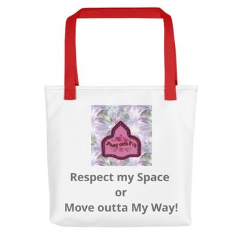 Custom and Sassy 100% cotton ToteBag