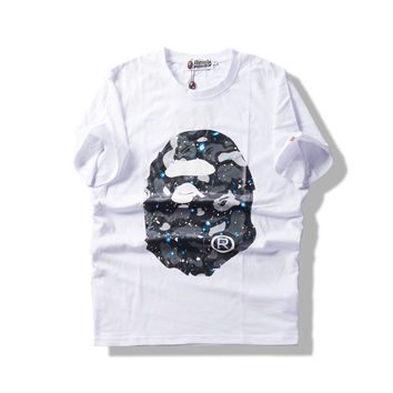 A Bathing Ape Summer Short Sleeve Unisex Tee