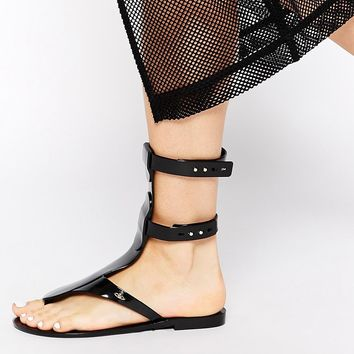 Vivienne Westwood For Melissa Harmonic Gladiator Sandals