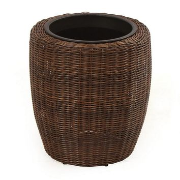 SONOMA outdoors Presidio Short Wicker Plant Stand