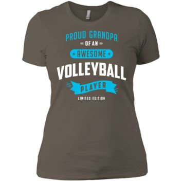 Proud Grandpa Of An Awesome Volleyball Player T-Shirt