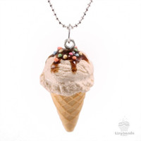 Scented Vanilla Ice-Cream Necklace