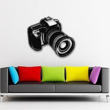 Wall Stickers Vinyl Decal Camera Photo Art Photography Coolest Decor Unique Gift (ig875)