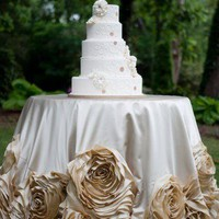 Rose Dipped Tablecloth