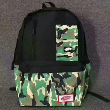 VANS Camouflage Trending Fashion Sport Laptop Bag Shoulder School Bag Backpack G-JJ-MYZDL