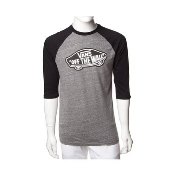 Mens Vans Off The Wall Raglan Tee