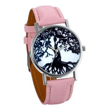 Women Casual Skeleton Watch