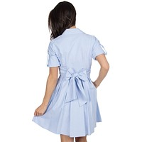 The Taylor Oxford Dress in Blue by Lauren James - FINAL SALE