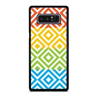 SQUARE PATTERN Samsung Galaxy Note 8 Case Cover