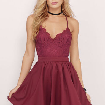 fa801f3f26 Mila Skater Dress from TOBI