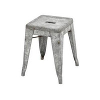 Walmart Woodland 49109 Classic Metal Galvanized Counter Stool - Small from Walmart | BHG.com Shop
