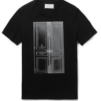 Maison Martin Margiela - Printed Cotton-Jersey T-Shirt | MR PORTER