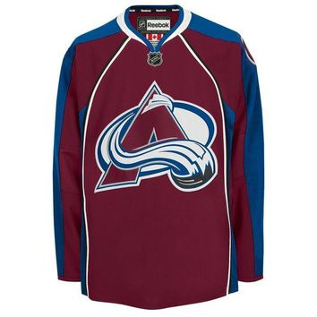DCCK8X2 Colorado Avalanche 2015-16 Reebok EDGE Authentic Home NHL Hockey Jersey (Made in Canad