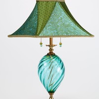 Jennifer by Caryn Kinzig Susan Kinzig: Mixed Media Table Lamp | Artful Home