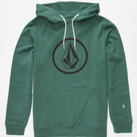 Volcom Stone Mens Hoodie Green  In Sizes
