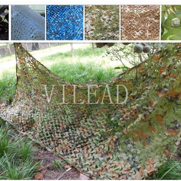 VILEAD 3M*7M 9 Colors Camouflage Netting Camo Net For Shop Decor Bar Decoration Outdoor Activity Shetler Shade Window Shade