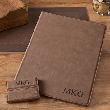 Personalized Portfolio & Business Card Case