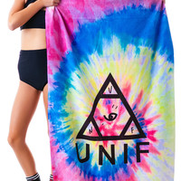 UNIF UNIF Beach Towel Tie Dye One