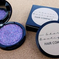 NEW - Hair Compact - Metallic // Purple, Periwinkle and Pink - Hair Chalk Alternative