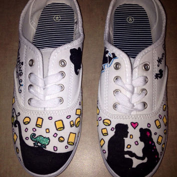 Disney Character Painted Shoes (Toms available for higher price)
