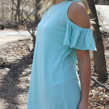 Summer in the City Dress - Mint