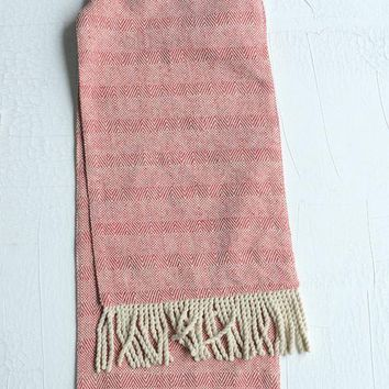 Cotton Table Runner w/ Fringe
