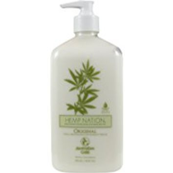 Hemp Nation ORIGINAL Moisturizer Tan Extender 18 oz