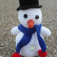 Snowman from Unique Creations by Tracy