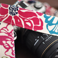 Tropical Punch - dSLR Camera Strap - Cute Camera Accessories for Nikon / Canon