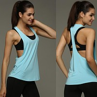 Women's Quick Drying Loose Breathable Tank Top